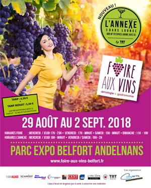 Foire aux Vins d'Andelnans 2018