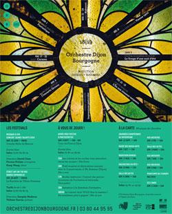 Orchestre Dijon Bourgogne saison 2018-2019