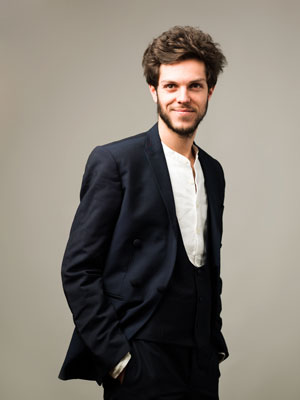 Thomas Pichon de l'Ensemble Pygmalion - Photo : François Sechet