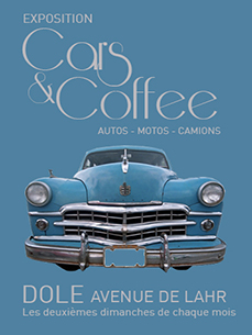 affiche cars & coffee