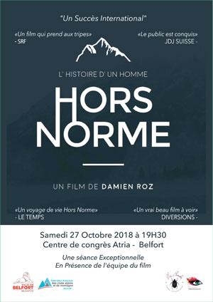 Film Hors norme à la Foire aux Livres de Belfort le 27 octobre