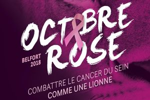 affiche octobre rose belfort