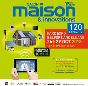 Salon Maison et Innovations à Andelnans