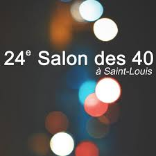affiche salon des 40 saint louis