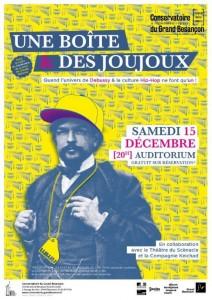 Conservatoire du Grand Besançon - La boîte à joujoux le 15 décembre