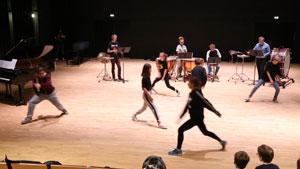 Une boite et des joujoux au Conservatoire du Grand Besançon le 15 décembre