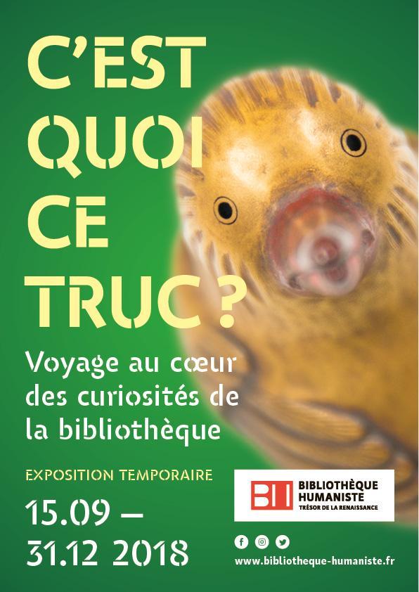 expo temporaire bibli humaniste sélestat