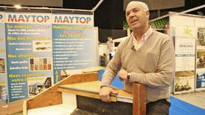 Maytop sera à nouveau présent au salon Habitat et économies d'énergies en 2019 à l'Axone