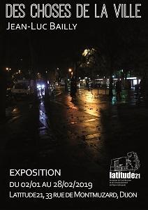 affiche expo des choses de la ville