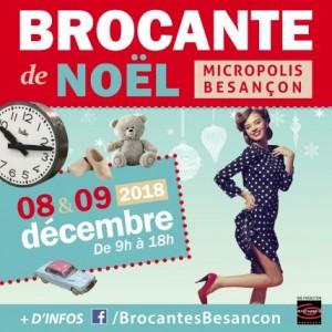 Brocante de Noël à Micropolis Besançon