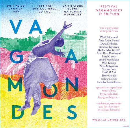 Vagamondes 2019 à La Filature de Mulhouse