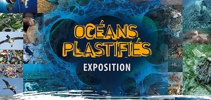 visuel exposition océans plastifiés