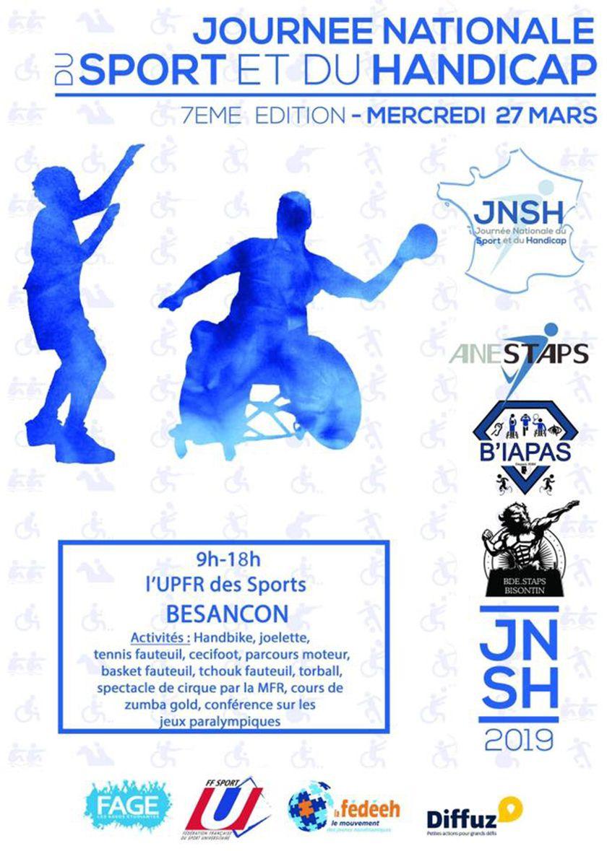 visuel journée nationale du sport et du handicap