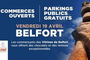 affiche parking gratuit