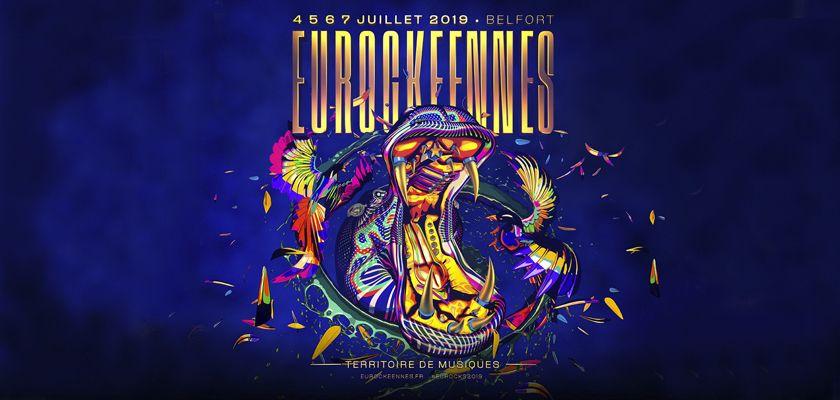 affiche eurockéennes 2019
