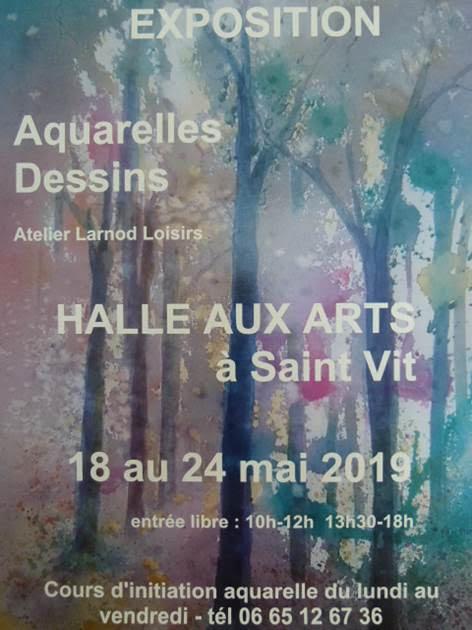 expo aquarelle saint vit