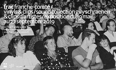 Frac Franche-Comté, exposition Vinyls & Clips à Besançon