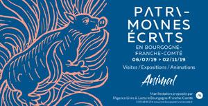 Patrimoines écrits en Bourgogne Franche-Comté 2019