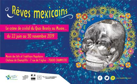 Exposition Rêves mexicains au Château de Champlitte