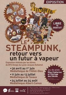 visuel exposition steampunk