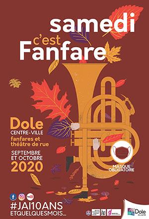 Samedi c'est fanfare en septembre et octobre 2020 à Dole