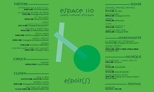 Espace 110 - Saison 2020-2021