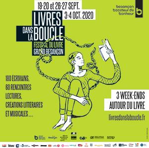 Livres dans la Boucle 2020 à Besançon