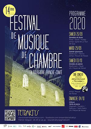 Festival Tetraktys 2020 en Franche-Comté