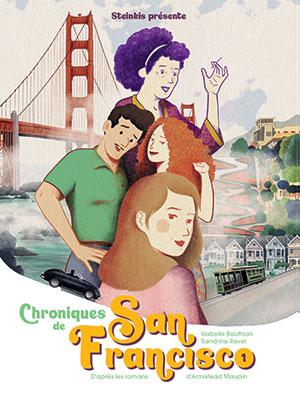 Chronique de San Francisco - Adaptation BD aux éditions Steinkis