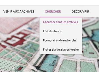 Nouveau portail pour les Archives départementales du Doubs