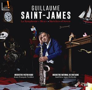 Guillaume Saint James - Orchestre Victor Hugo Franche-Comté - Symphonie Bleu - Chronique album