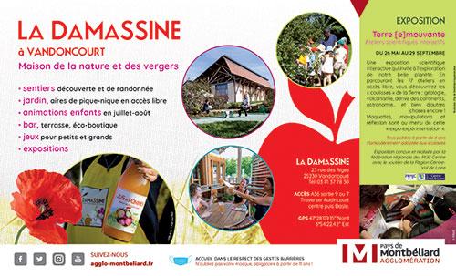 Pays de Montbéliard Agglomération - la Damassine