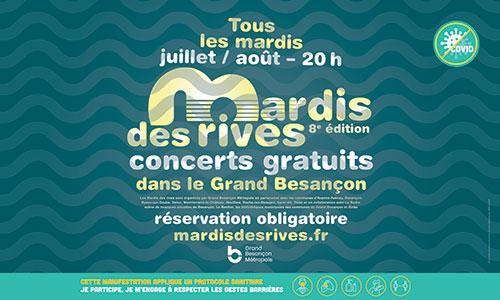 Grand Besançon Métropole - Mardis des Rives 2021
