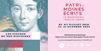 Patrimoines écrits en Bourgogne Franche-Comté 2021