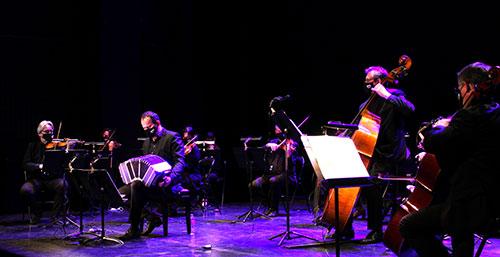 William Sabatier et des musiciens de l'ODB