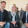 Stéphane Bonnotte, co-directeur de l'École 2089, Sandrine Décembre qui assure les permanences 2089 à la CCI et Alain Seid, directeur de la CCI 90