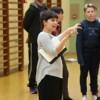 Danse à l'école avec la danseuse chorégraphe Noelia Tajes au Collège Vauban de Belfort