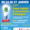 Salon Habitat et Economies d'Energies 2020 à l'Axone