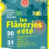 Les Flâneries d'été 2021 dans le Territoire de Belfort